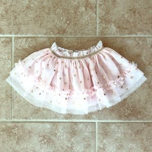 Never worn Baby Starters pink & gold 12 month tutu